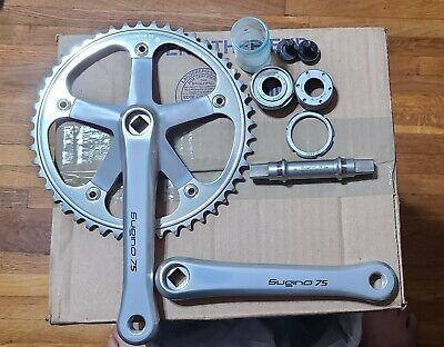 Complete Crankset GOLD 48T 172.5 mm Bolts Included