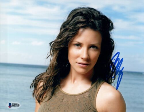 Evangeline Lilly Signed Autograph 8x10 Photo AVENGERS ENDGAME Lost Beckett COA