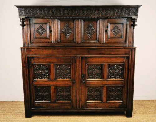 A Fine Late 17th - Early 18th Century Court Cupboard