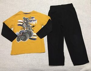 Size 5/6 outfit for back to school - BMX/Monster Truck