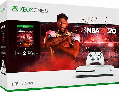 Xbox One S 1TB NBA 2K20 Bundle + Madden NFL 20