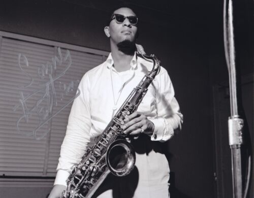 Sonny Rollins signed photo in person