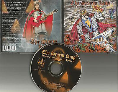 THE STORM KING Halloween / Jack o latern Smash HALLOWEEN LIMITED USA CD single - Halloween Usa Promo