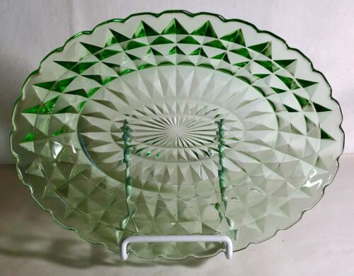 "Jeannette Green Windsor 9 1/2"" Oval Vegetable Bowl"