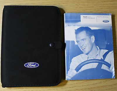 FORD FOCUS HATCHBACK & ESTATE HANDBOOK OWNERS MANUAL WALLET 2008-2011 PACK !!