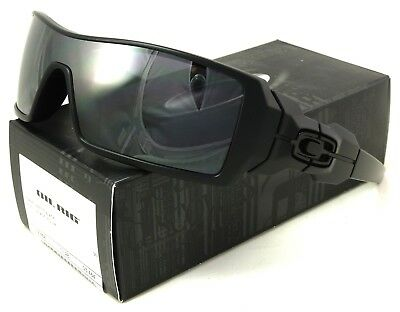 NEW OAKLEY OIL RIG SUNGLASSES 03-464  MATTE BLACK / BLACK IRIDIUM (Oakley Oil Rigs Sunglasses)