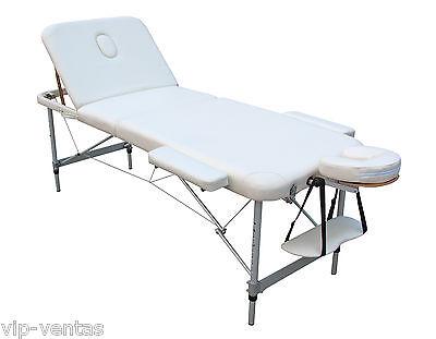 Camilla de masaje aluminio plegable modelo VIP3385B