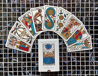 1930 Tarot de Marseille & Guide, New in shrink wrap, facsimile of vintage deck