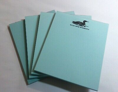 Minnesota Notepads 4 Memo Pads - Souvenir Loon Resort Gift Store Cabin Lakes