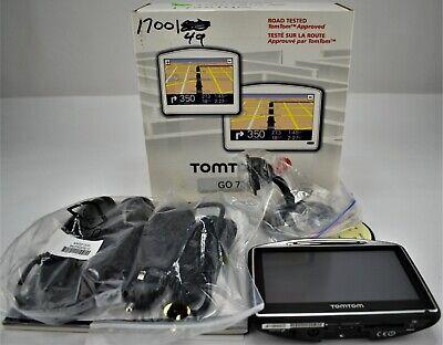 TomTom Go 730 Car Portable GPS Navigator US/Canada/Mexico Maps &Lifetime Traffic