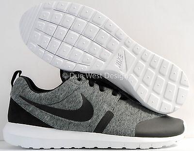 Nike Roshe Nm Tp Tech Fleece Grey 8 5 10 Black Air Presto Acronym Lunar Force 1
