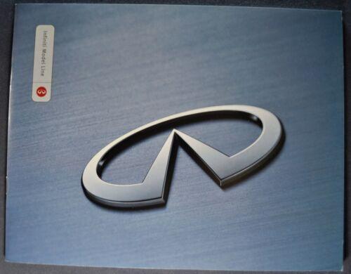 2000 Infiniti Catalog Brochure Q45 I35 G35 Sedan QX4 SUV Excellent Original