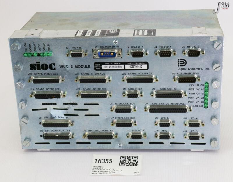 16355 Novellus Sioc 2 Module 03-143089-00 02-143079-00