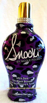 SUPRE Snooki Ultra Dark 70x Black Bronzer Tanning Bed Lotio