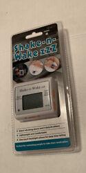 New! TECH TOOLS SHAKE AND WAKE ZZZ PI 107 Silent Vibrating Personal Alarm Clock