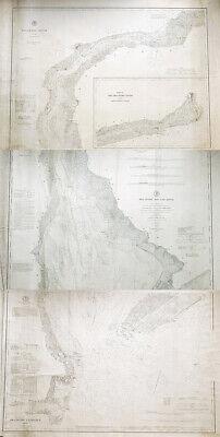 1862 PA MAP Bentleyville Brookville Brownsville Fountain Hill Homestead HUGE