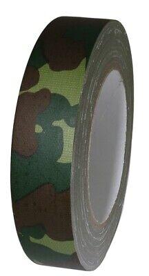 T.r.u. Industrial Duct Tape. Waterproof Uv Resistant Camouflage 1 In X 25 Yd.