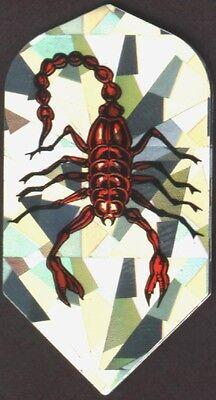 Scorpion Slim Dart Flights  3 Per Set