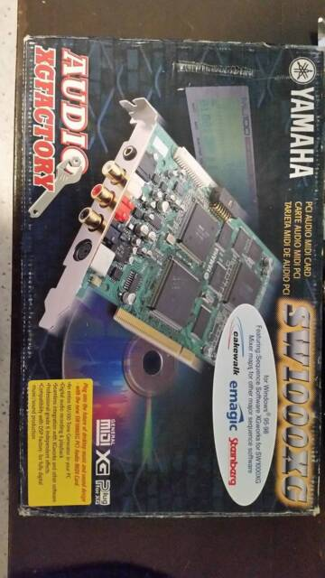 Yamaha SW 1000 XG Sound Midi Card   Board Games   Gumtree Australia