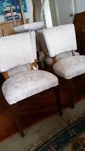 Eight newly uphostered dining chairs. Bondi Beach Eastern Suburbs Preview