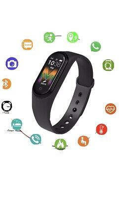 Smartwatch M5 Cardiofrequenzimetro Smart Watch Fitnes Sport Orologio Android iOs