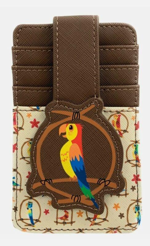 NEW Disney Parks Enchanted Tiki Room Birds Credit Card Holder ID Wallet RFID