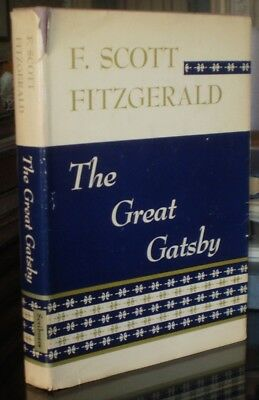 RARE, 1953 EDITION, THE GREAT GATSBY, by F. SCOTT FITZGERALD, w UNCLIPPED DJ for sale  West Chester