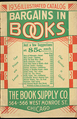 The Supply Store (The Book Supply Co 1936 Illustrated Chicago Store Catalog 1930s Novel Mail)