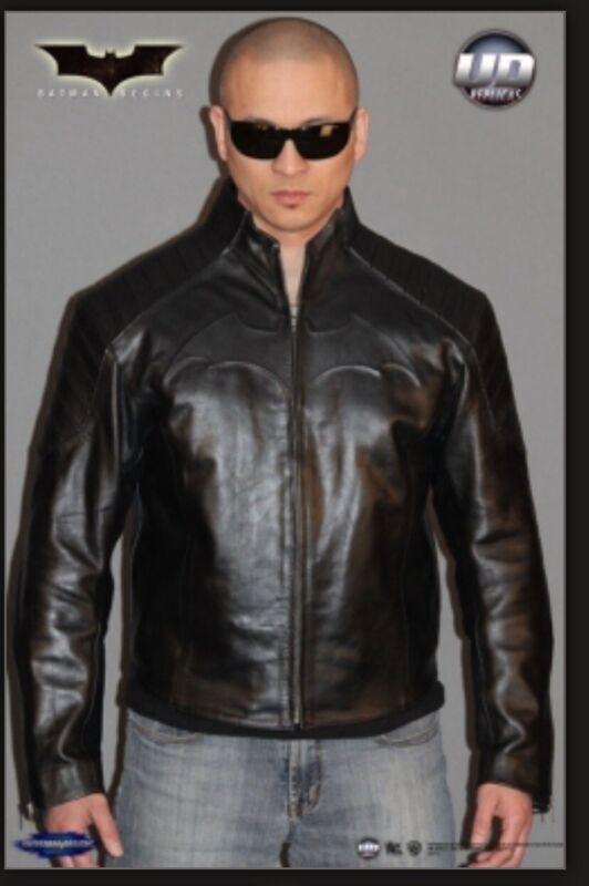 UD REPLICAS Batman Begins Jacket Leather (XL) NEW