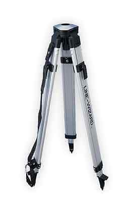 Line-wizard Dome Head Aluminum Contractor Survey Tripod Laser Transit