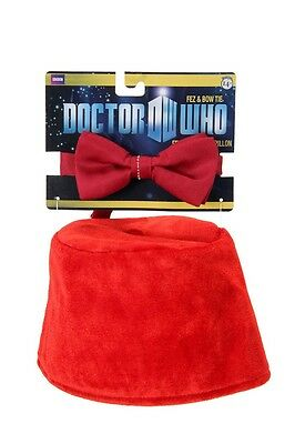 - Dr Doctor Who Adult Fez & Bow Tie Kit By Elope