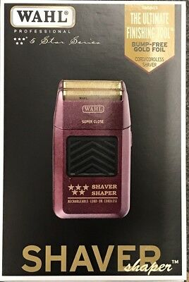 Wahl 5 Star Cord/Cordless Rechargeable Shaver/Shaper Free Priority Mail Shipping for sale  North Wales