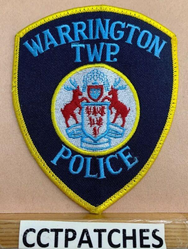 WARRINGTON TOWNSHIP, PENNSYLVANIA POLICE SHOULDER PATCH PA