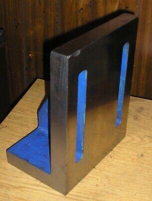 Cast Iron Angle Plate Usa Made - 10 X 7.85 X 5.21
