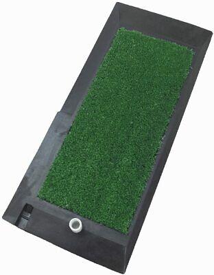 Garden Astro Turf Chipping Practice Mat Inc Rubber Range Tee Ideal for Garden!