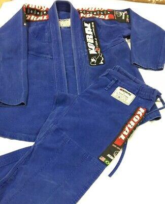 New /& Sealed MAA Jiu Jitsu Belt!!!! Gameness BJJ Blue Belt Size A2