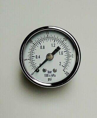 Waste Oil Burner 0-30 Air Gauge H.s. Clean Burn Firelake Shen.wedco