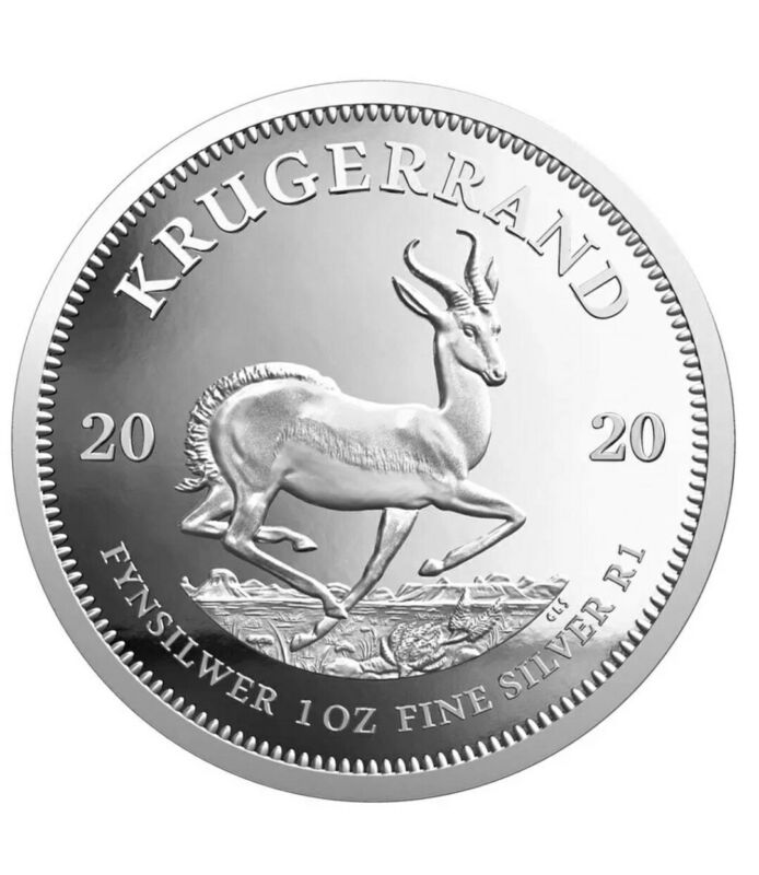 2020 South Africa 1 oz Silver Proof Coin Krugerrand