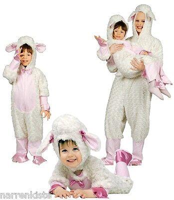 Schaf Lamm Lämmchen Lämmlein Schäfchen Kostüm Overall Plüsch Schafkostüm - Schaf Lamm Kostüm