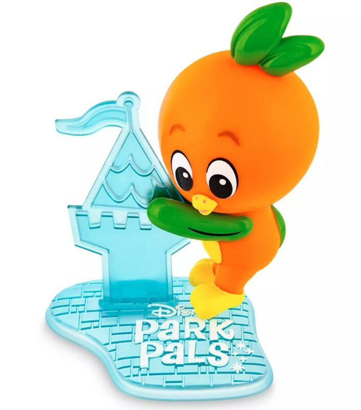 NEW Disney PARK PALS Collectible Orange Bird Clip On Figure with Stand