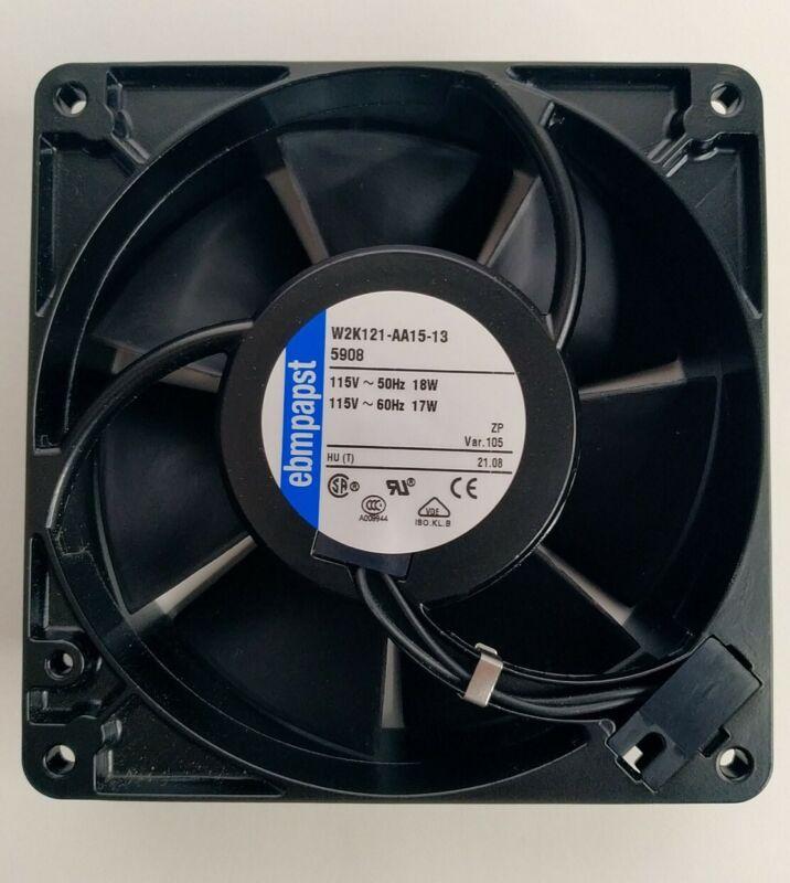 New 5 inch EBM-PAPST 5908 AC Fan W2K121-AA15-13 115V 50Hz/60Hz