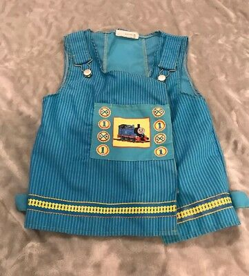 Thomas the Train Halloween Pretend Play Kids Costume Pullover Vest DressUp S 4-6 - Thomas The Train Halloween Costumes