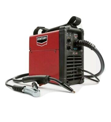 90 Amp Fc90 Flux Core Wire Feed Welder Gun 120 Volt Portable Lightweight New
