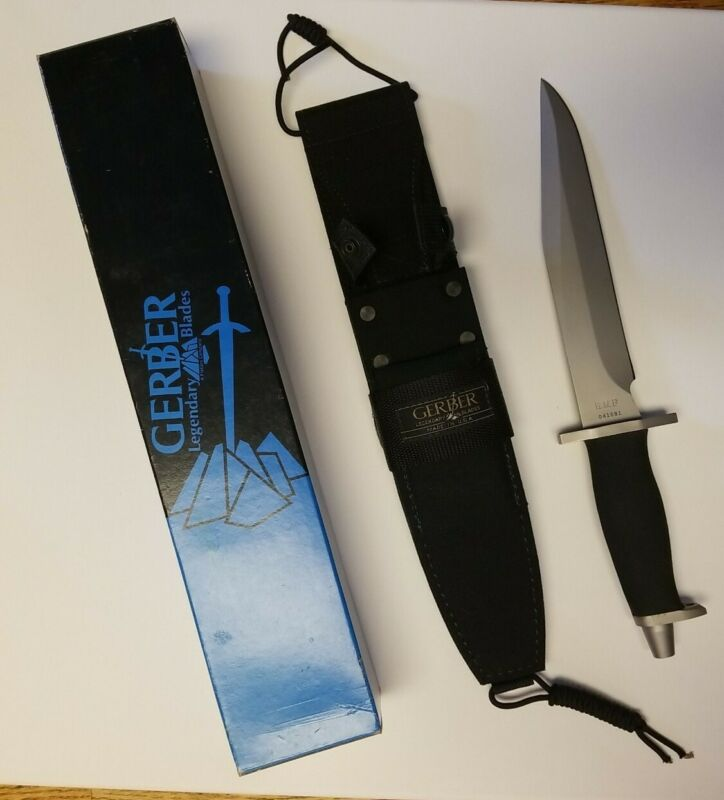 Gerber BMF Tactical Vintage Knife New In Box # 05925