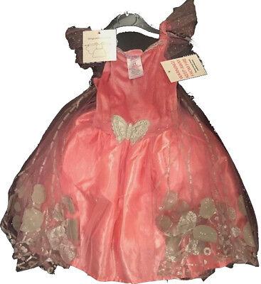 Fasching Kostüm Schmetterling Fee Prinzessin Kleid rosa Gr.  80-122 NEU