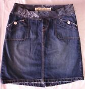 Old Navy Maternity Jean Skirt
