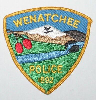Old WENACHEE POLICE Washington WA PD Used Worn patch