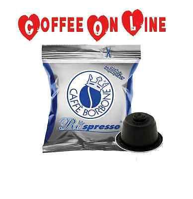 300 CIALDE CAPSULE CAFFE BORBONE RESPRESSO BLU COMPATIBILE MACCHINE NESPRESSO