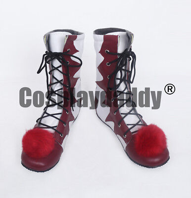 It 2017 Film Movie Pennywise Halloween Clown Stephen King's Cosplay Shoes Boots  - Film Halloween 2017