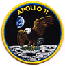 Official NASA Apollo 11 Moonlanding Mission Patch, Armstrong, Aldrin and Collins